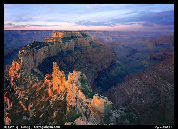 منتزة غراند كانيون الوطني * في ولاية أريزونا الامريكيــــة Grca20114
