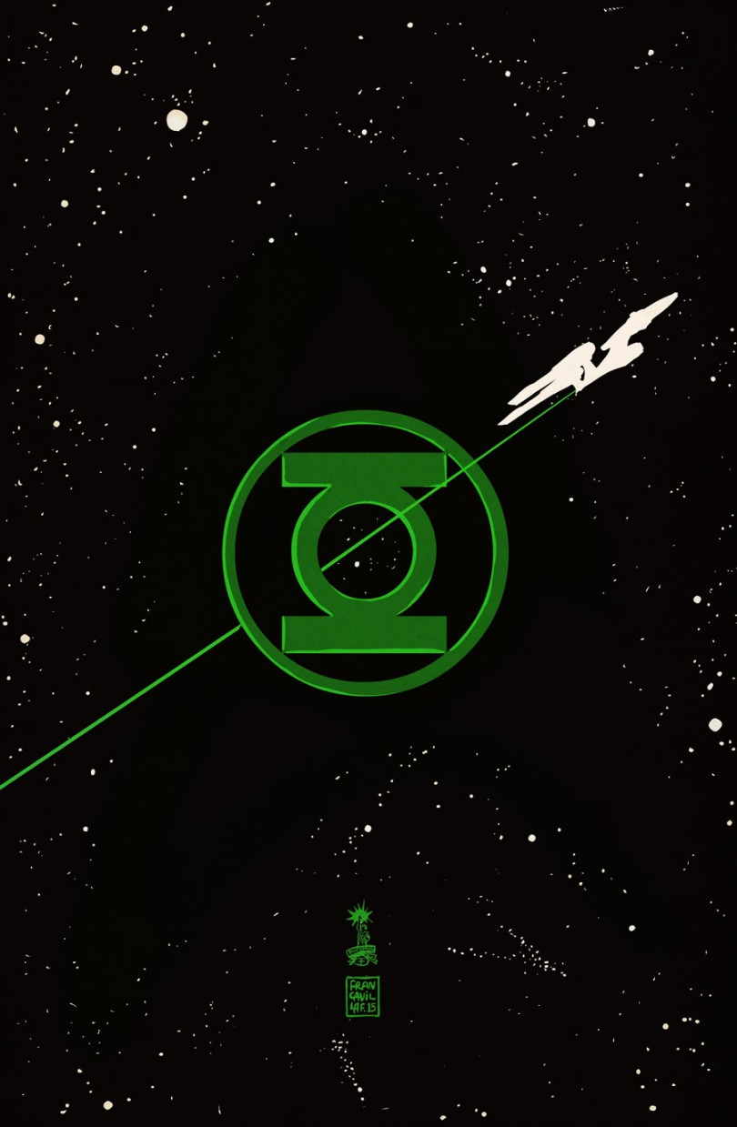 [QUADRINHOS] DC Comics (EUA) - O Cavaleiro das Trevas 3! - Página 4 Star-trek-green-lantern-01-cover3-francavilla-538bb-810x1239
