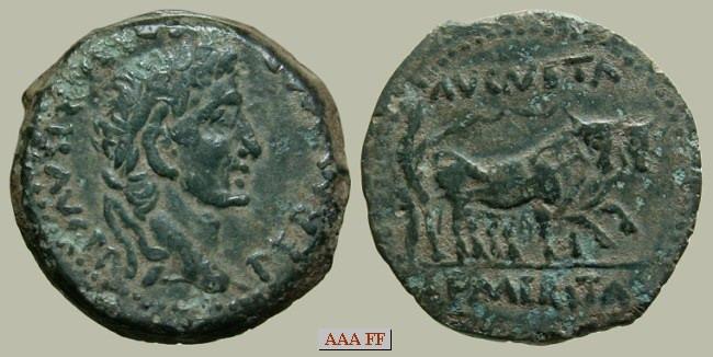 Moneda a clasificar Augusto_m34