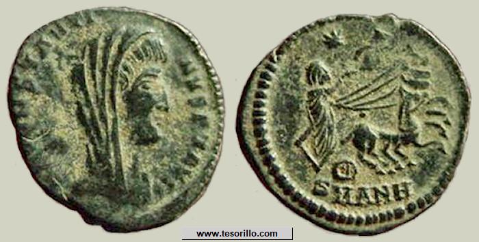 AE4 póstumo de Constantino I. Cuadriga. Ceca de Antioquía Constantino_m27
