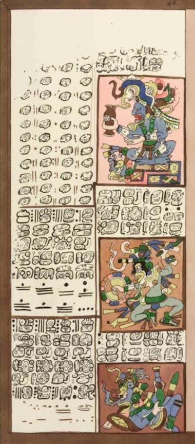 Apuntes de Mitología y Etimología - Página 5 Codice-Dresde-Pagina-46