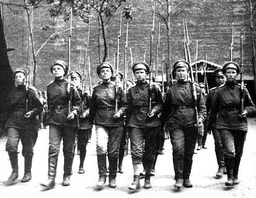 Le bataillon russe de la mort Botchkareva12