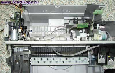 Разборка МФУ Canon MP150, MP160, MP170, MP180 73-10