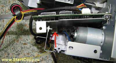Разборка МФУ Canon MP150, MP160, MP170, MP180 73-13