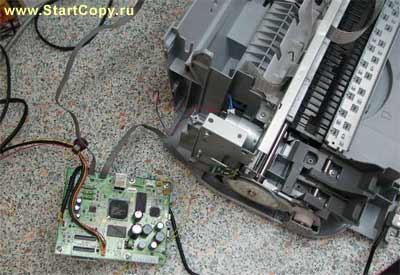 Разборка МФУ Canon MP150, MP160, MP170, MP180 73-14