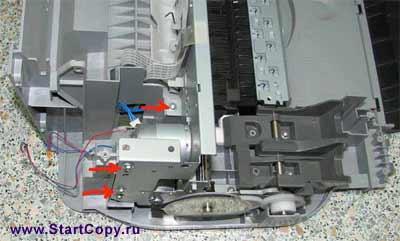 Разборка МФУ Canon MP150, MP160, MP170, MP180 73-15