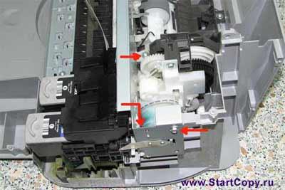 Разборка МФУ Canon MP150, MP160, MP170, MP180 73-16