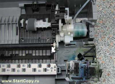 Разборка МФУ Canon MP150, MP160, MP170, MP180 73-22
