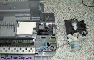 Разборка МФУ Canon MP150, MP160, MP170, MP180 73-24