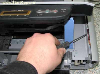 Разборка МФУ Canon MP150, MP160, MP170, MP180 73-3