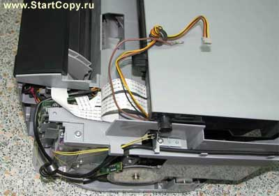Разборка МФУ Canon MP150, MP160, MP170, MP180 73-5