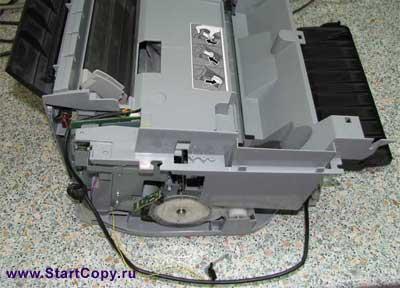 Разборка МФУ Canon MP150, MP160, MP170, MP180 73-6