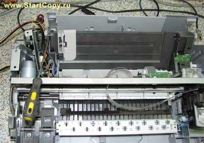 Разборка МФУ Canon MP150, MP160, MP170, MP180 73-9
