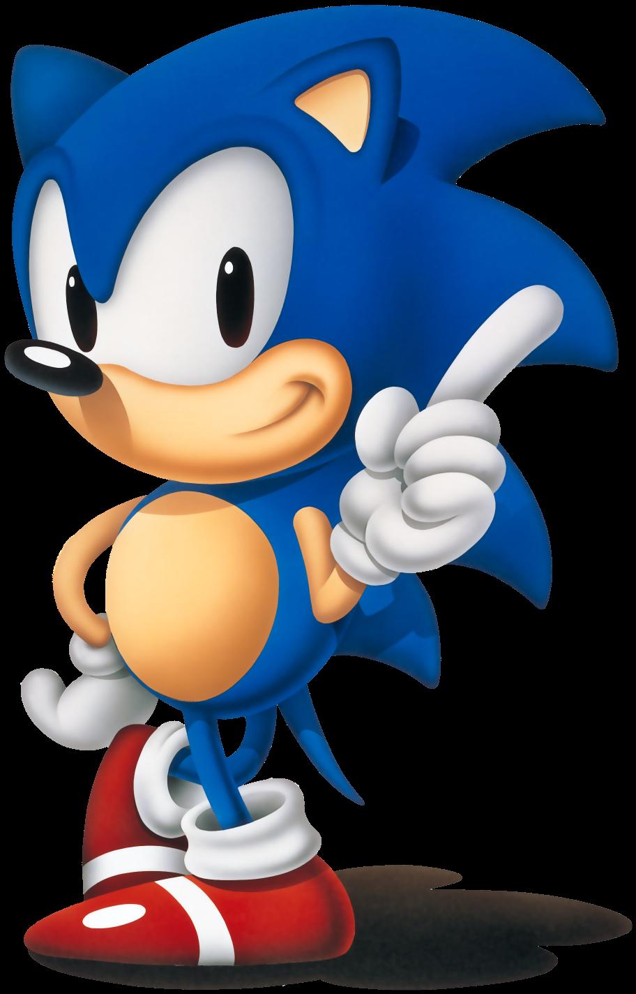تاريخ شركة سيجا حتى انهيارها Sonic-pose