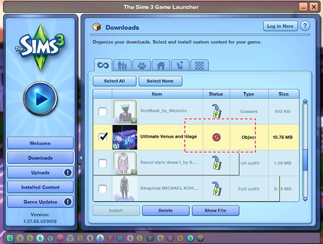 ✎ สอนติดตั้ง Custom Content The Sims 3 & The Sims 4     00251099