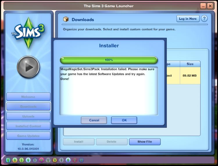 ✎ สอนติดตั้ง Custom Content The Sims 3 & The Sims 4     00270157