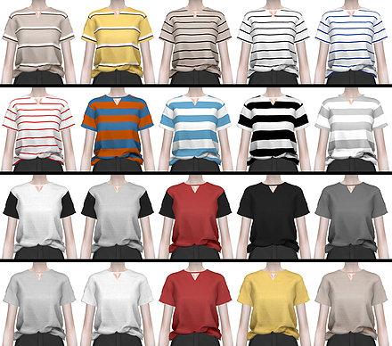 ••.•´¯`•.••【the sims 4】up#1 แจกเสื้อผ้าสไตล์เกาหลี ••.•´¯`•.••   00315587