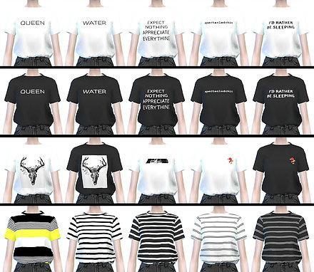 ••.•´¯`•.••【the sims 4】up#1 แจกเสื้อผ้าสไตล์เกาหลี ••.•´¯`•.••   00315589