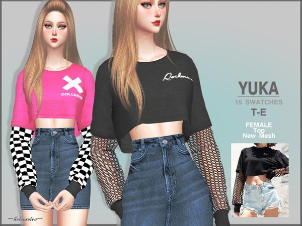 [The Sims 4] แจกเสื้อผ้าจร้า 00342620