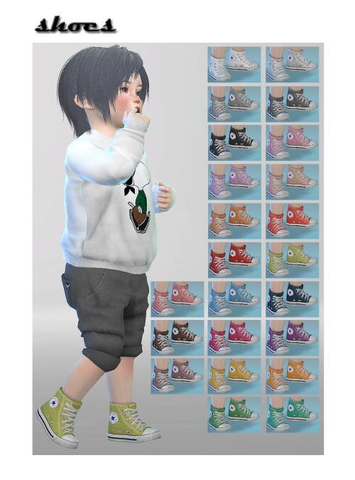 ☾THE SIMS 4☽ แจกผมเสื้อผ้า สำหรับเด็ก ค่ะ น่ารักทังนั้น 00345092