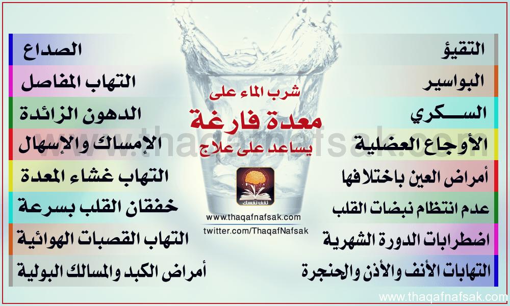 فوائد عديدة لمياه الشرب  Info2