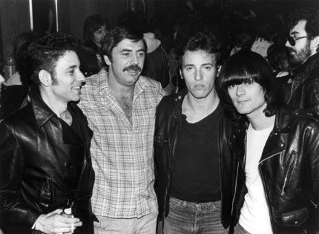 Semana Ramonera Robert-Gordon-Tommy-Dean-Bruce-Springsteen-and-Dee-Dee-Ramone