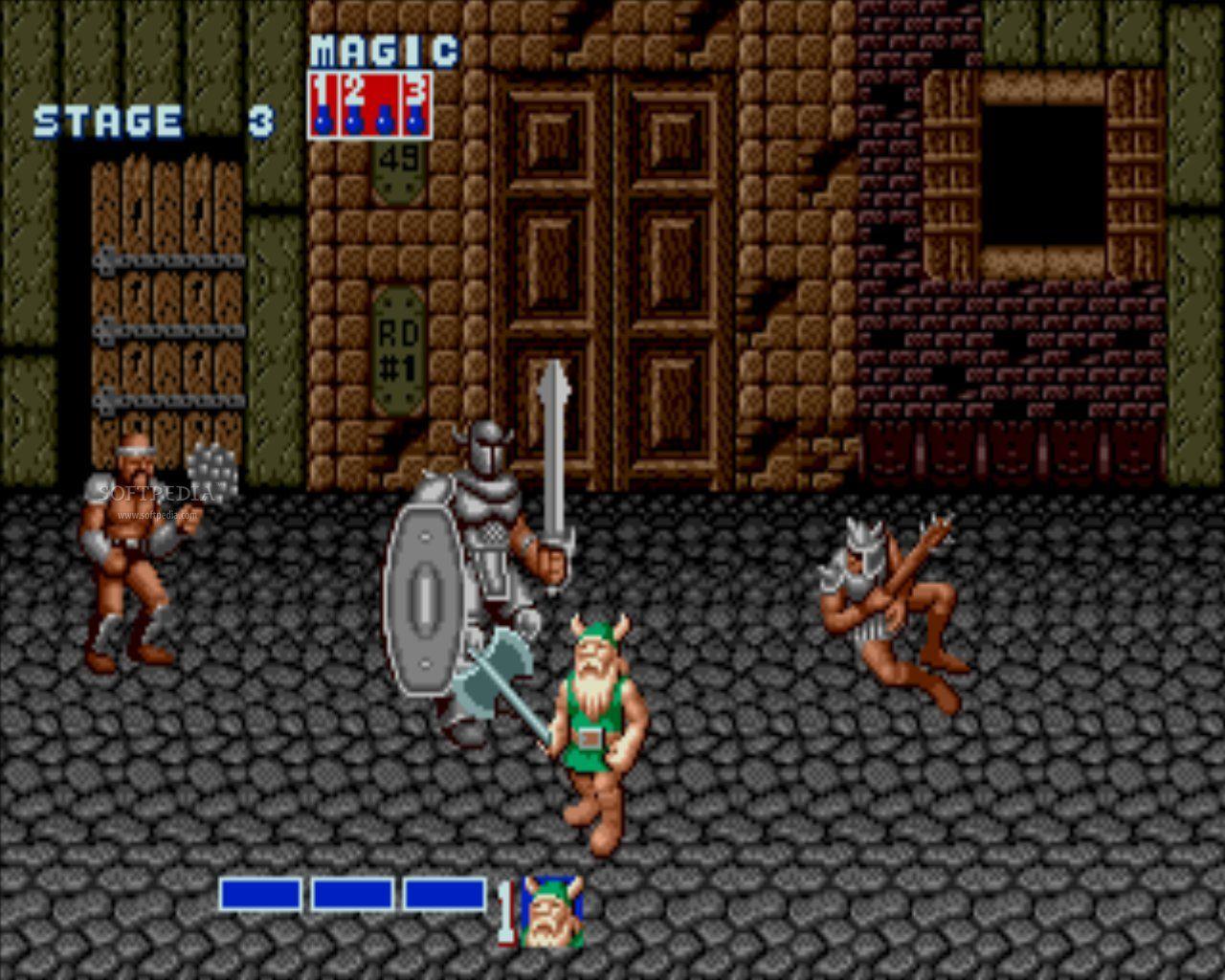 Golden axe ( arcade, master system, megadrive, micro-ordinateur ) Goldenaxescreen2