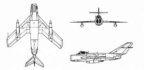 موسوعة اجيال الطائرات المقاتلة واشهر طائرات كل جيل - صفحة 4 Mig_17_fresco-02329