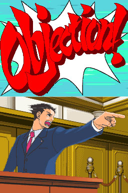 Hyruu's Game Review - Phoenix Wright PW-Objection01