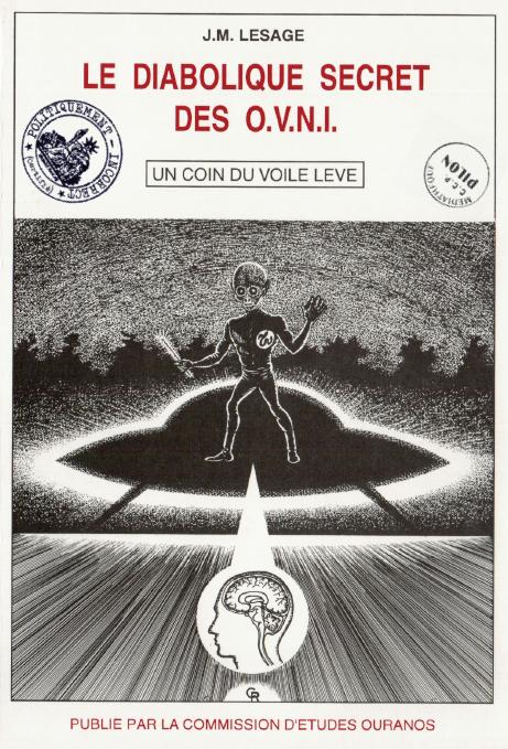 Taizé 1972 : De jeunes pélerins voient un OVNI et sont effrayés ! Diabolique_secret_ovni_lesage