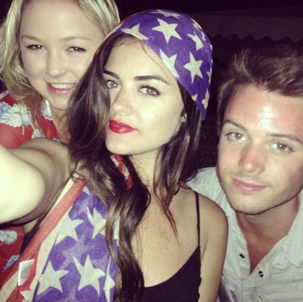 4 Juillet, l'Independance Day !  Lucy-hale