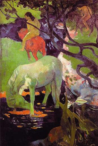 Gioconda Belli y Gauguin Gauguin_whitehorse