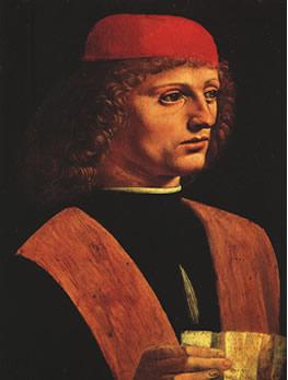 Leonardo da Vinci Leonardo_portrait_musician