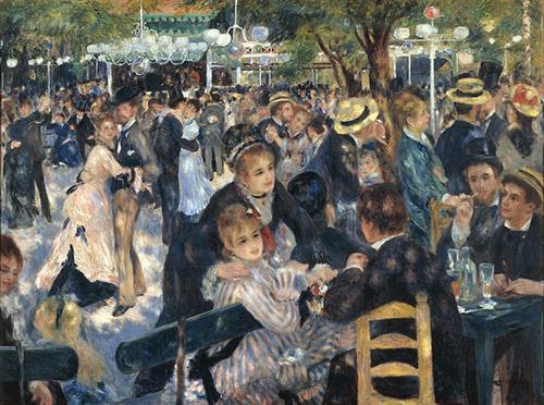 Jorge Luis Borges y... un popurri impresionista 1876_renoir_gallette