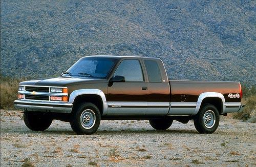 Your (Current) Favorite Truck 98_chevrolet_k2500_4x4_silverado_extcab_lb