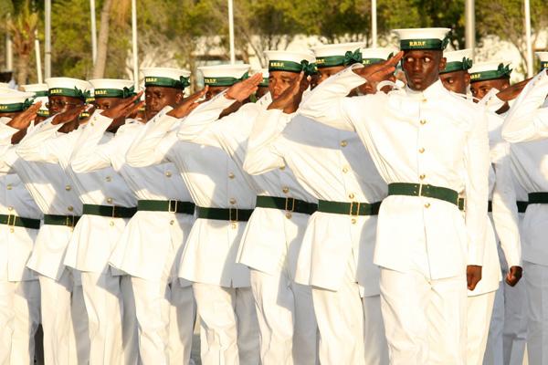 Armée des Bahamas / Royal Bahamas Defence Force ( RBDF ) Ag0796