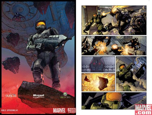 DC Comics/BD US & Super Heroes Halo-comic2