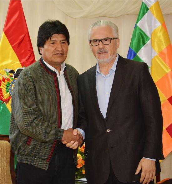 ¿Cuánto mide Evo Morales? - Altura - Real height Baltasar-Garz%C3%B3n-EFE