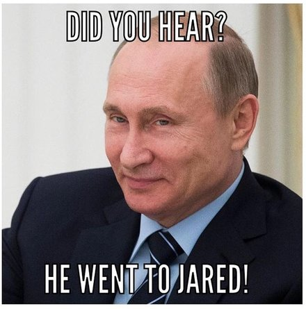 Mike Flynn is pleading guilty to lying to the FBI today Jared-kushner-putin