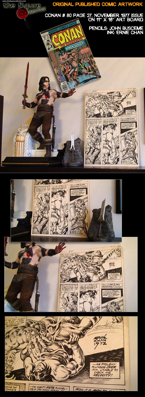 Colecao do Turco louis gara do forum Sideshow Collectors! Pobrinho!!! CONAN-artwork