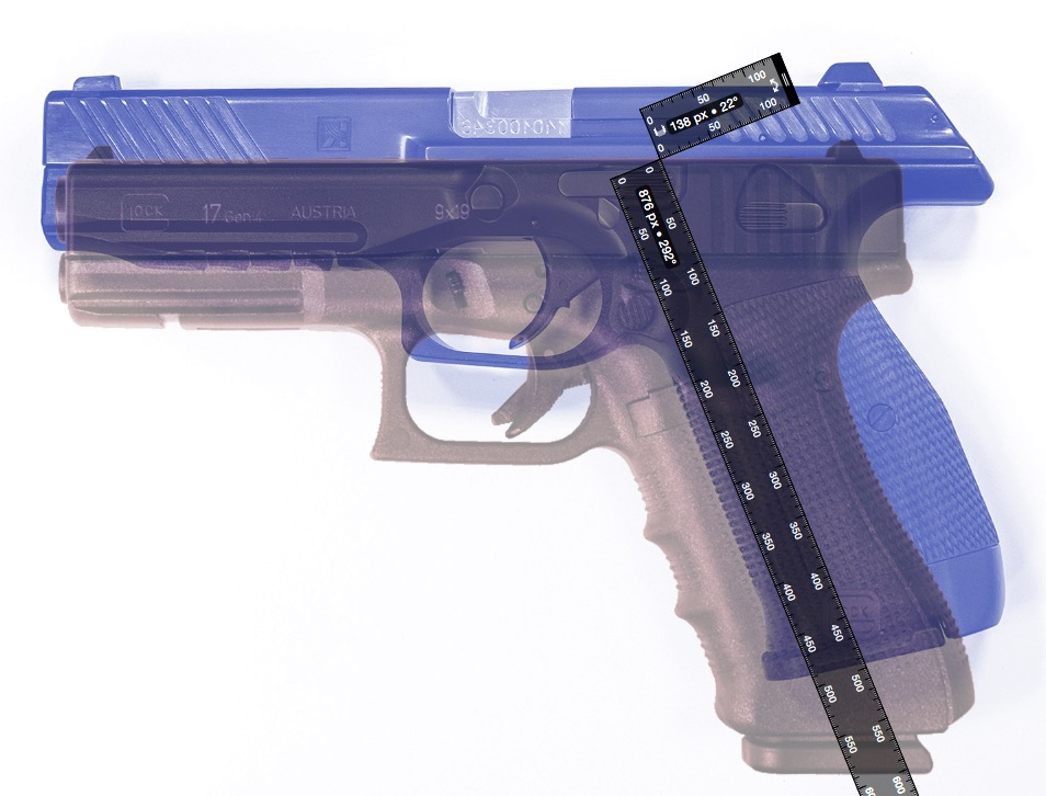 Pistolet Kalashnikov PL-14 Glock-vs-pl14