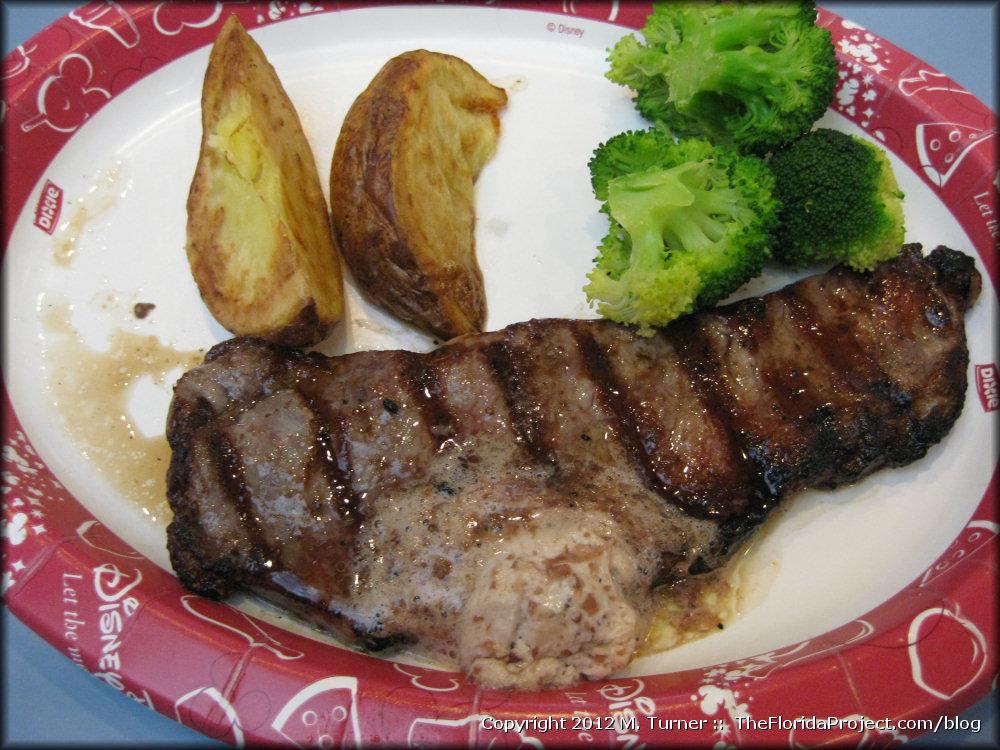 Nouveaute: Steak offert au Liberty Inn d'Epcot Liberty-inn-steak