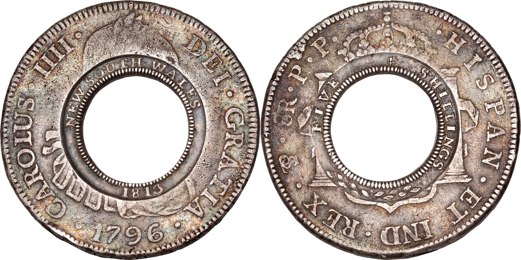 Retki novčići NSW-Holey-Dollar