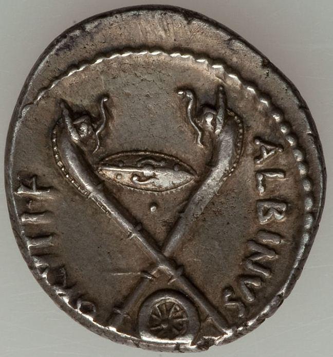 Autres monnaies de Simo75 - Page 3 Silver-denarius-48-BC-Albinus-Bruti