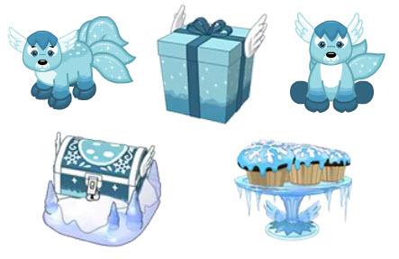 Webbiekinz Imaginiers - Webkinz Newz IceFawn