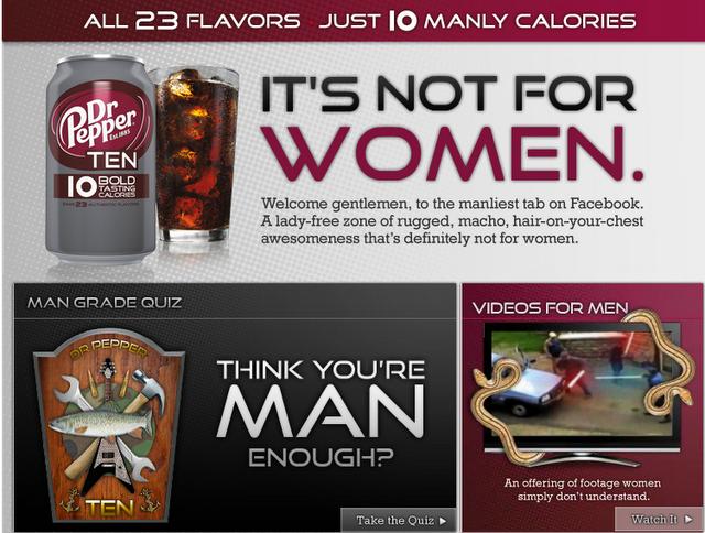 Marketing: différenciation/sexualisation des produits - Page 3 Dr-pepper-10