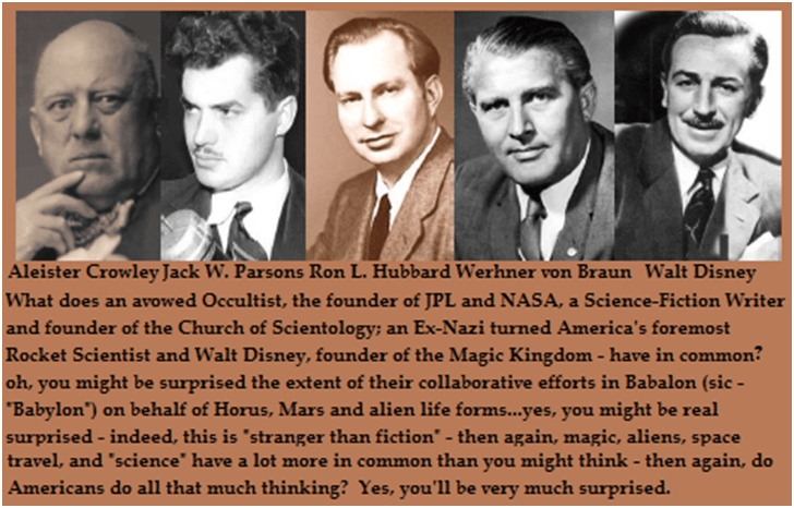 The Occult Roots of NASA and the Ongoing Fraud Downloadfile