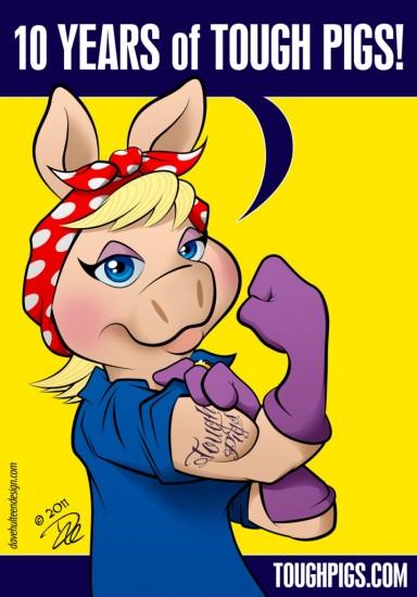 D'une affiche de propagande au féminisme, Rosie, We can do it RosieRiveterMuppet-384x550