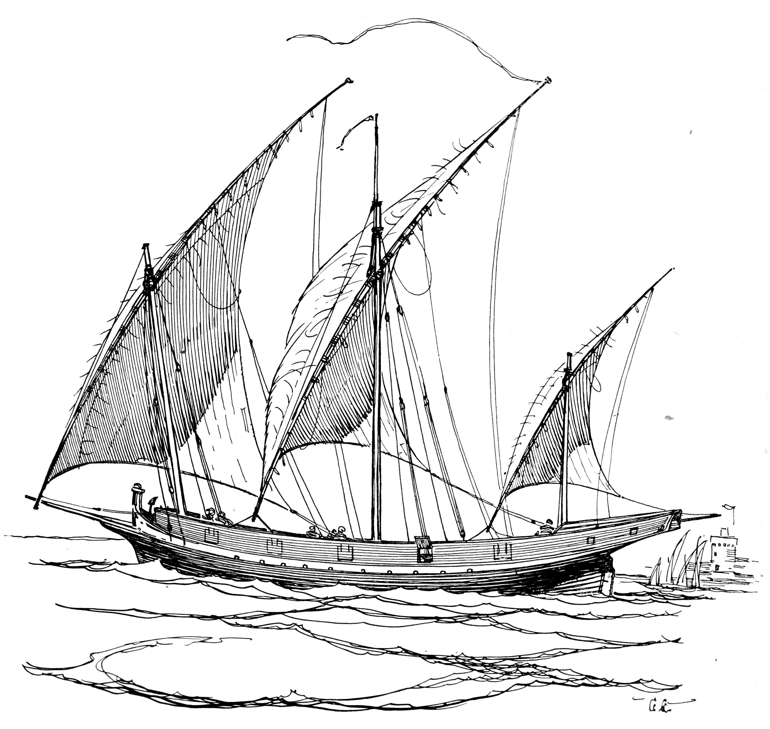 Rigging DE Sails Wm_Lateen_Sails_PSF