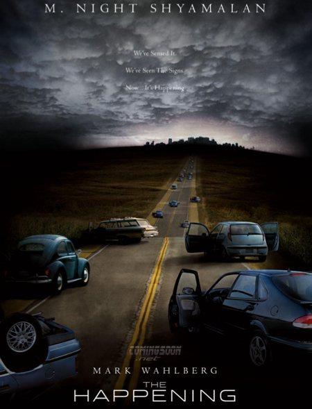 Phénomène le film Happening-poster